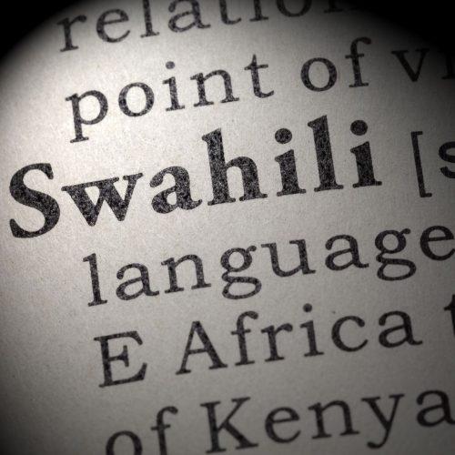 swahili lenguage